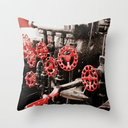 From The Engineers Seat Throw Pillow