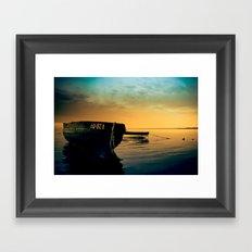 Boat Framed Art Print