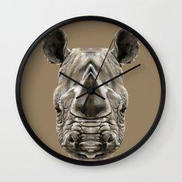 Rhino Sym Wall Clock