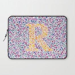 """""""R"""" Eye Test Full Laptop Sleeve"""