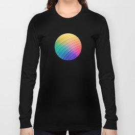 Spectrum Bomb! Fruity Fresh (HDR Rainbow Colorful Experimental Pattern) Long Sleeve T-shirt