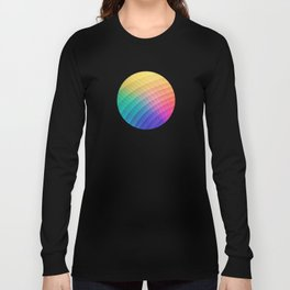 Spectrum Bomb! Fruity Fresh (HDR Rainbow Colorful Experimental Pattern) Long Sleeve T-shirt