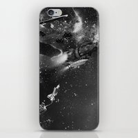 sci fi iPhone & iPod Skins featuring Sci-Fi by Melissa Smith