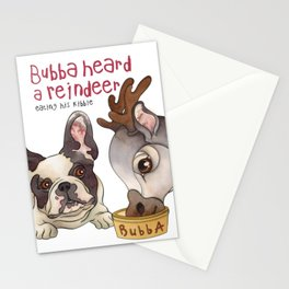 Bubba Heard a Reindeer Stationery Cards