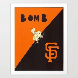 bomb sf Art Print