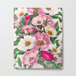 Wild roses II Metal Print