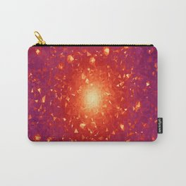 Missing Galaxies Low Poly Geometric Triangles Carry-All Pouch