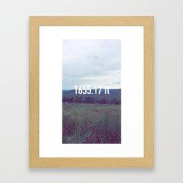 Mount Greylock Framed Art Print