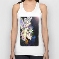 fairy Tank Tops featuring Fairy by JoySlash