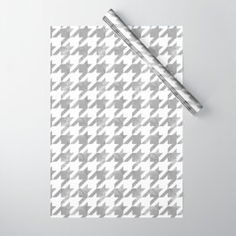Japanese Traditional Design8 -CHIDORI- Silver Grey Wrapping Paper