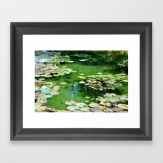 Waterlilies Framed Art Print