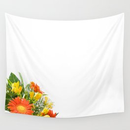 Arranged wedding handheld bouquet Wall Tapestry