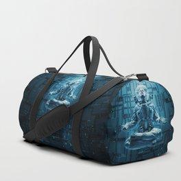 Astro Lotus Duffle Bag
