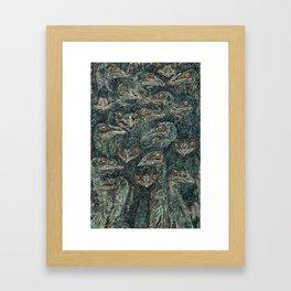 Emus Framed Art Print