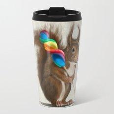 Squirrel with lollipop Travel Mug