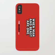 WHEN MAN AND BEST ARE ONE. Slim Case iPhone X