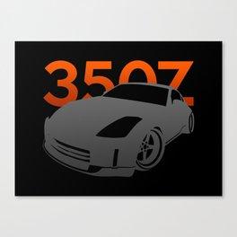 Nissan 350Z Canvas Print