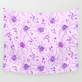 Sugar Spiders Wall Tapestry