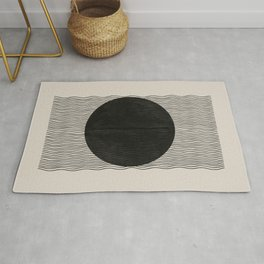 Woodblock Paper Art Rug