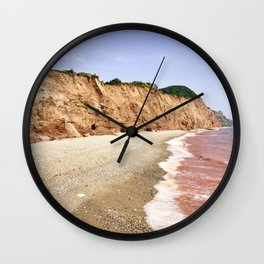 Red Sea of Sidmouth Wall Clock