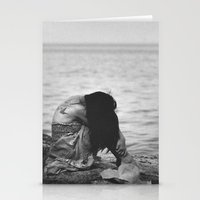 alone Stationery Cards featuring Alone  by PhotoStories