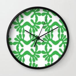 Grassy Wall Clock
