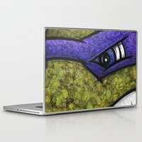 teenage mutant ninja turtles Laptop & iPad Skins featuring Donatello (Teenage Mutant Ninja Turtles) by chris panila