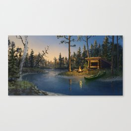 Away together Canvas Print