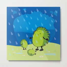 happy when it rains Metal Print