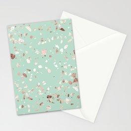 Minty Pink Stationery Cards