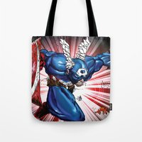 captain silva Tote Bags featuring Captain.... by wOlly