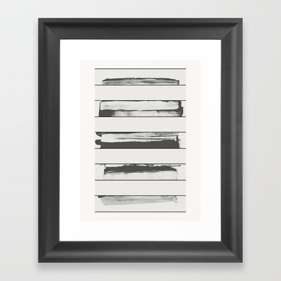 Undo Framed Art Print