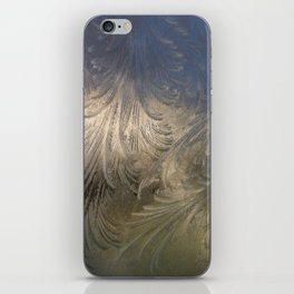 Ice Feathers iPhone Skin