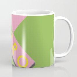 Retro platform design Coffee Mug