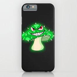 An Evil, Glowing, Mushroom iPhone Case