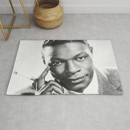 Nat King Cole  - Black Culture - Black History Rug
