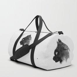 Cat Portrait (Ink Painting) Duffle Bag