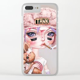 Tank Girl and Booga Clear iPhone Case