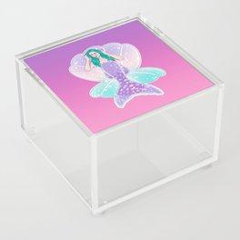 Mermaid Gradient Acrylic Box