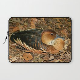 Fulvous Whistling Duck Laptop Sleeve