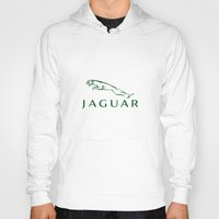 jaguar Hoodies featuring Jaguar by kartalpaf
