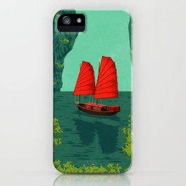 Vietnam Ha Long Bay iPhone Case