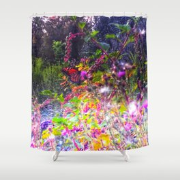 Magic Butterfly Shower Curtain