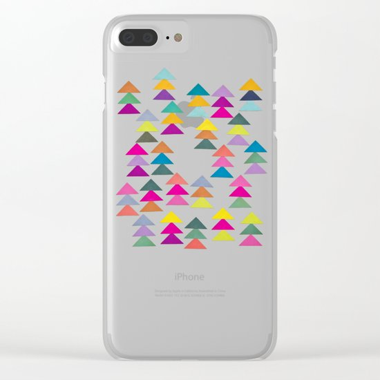 Lost in a Forest Clear iPhone Case