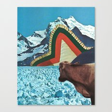 the fabric of reality (crisp) Canvas Print