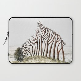 Zebra Tree Illusion Laptop Sleeve