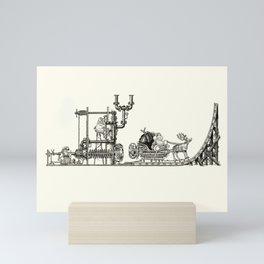 Elf Launcher Mini Art Print