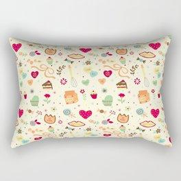 Cake Pattern Rectangular Pillow