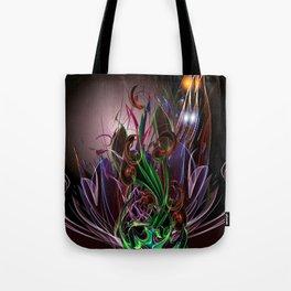 Moonlight Garden Tote Bag