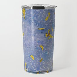 Blue Jungle Travel Mug